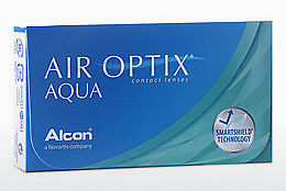עדשות מגע Alcon AIR OPTIX AQUA (AIR OPTIX AQUA AOA6)