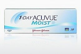 עדשות מגע Johnson & Johnson 1 DAY ACUVUE MOIST 1DM-90P-REV
