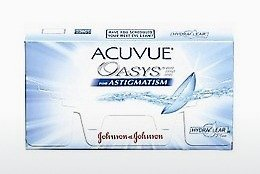 עדשות מגע Johnson & Johnson ACUVUE ADVANCE for ASTIGMATISM AGT-6P-REV