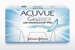 עדשות מגע Johnson & Johnson ACUVUE OASYS with HYDRACLEAR Plus PH-6P-REV