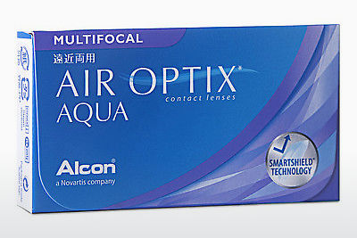 עדשות מגע Alcon AIR OPTIX AQUA MULTIFOCAL (AIR OPTIX AQUA MULTIFOCAL AOM6H)