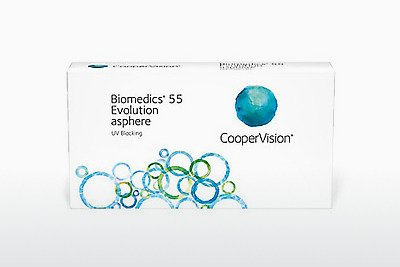 עדשות מגע Cooper Vision Biomedics 55 Evolution BMEU6