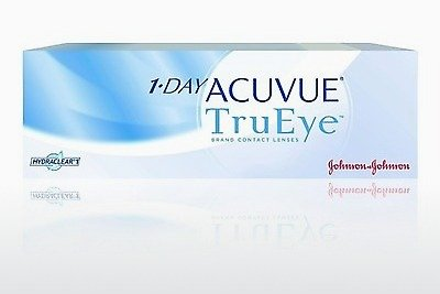עדשות מגע Johnson & Johnson 1 DAY ACUVUE TruEye 1D4-90P-REV