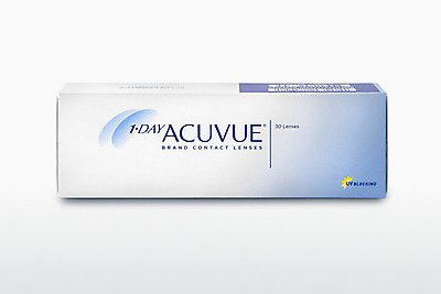 עדשות מגע Johnson & Johnson 1 DAY ACUVUE 1D2-90P-REV