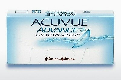 עדשות מגע Johnson & Johnson ACUVUE ADVANCE with HYDRACLEAR AVG-6P-REV