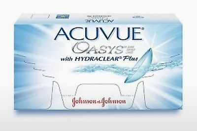 עדשות מגע Johnson & Johnson ACUVUE OASYS with HYDRACLEAR Plus PH-12P-REV