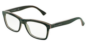Dolce & Gabbana DG3235 2952 CAMO/FLUO RED/BROWN