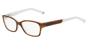 Emporio Armani EA3004 5047 STRIPED BROWN/CREAM