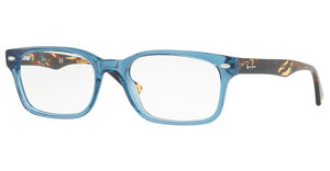 Ray-Ban RX5286 8024 SHINY TRASPARENT BLUE