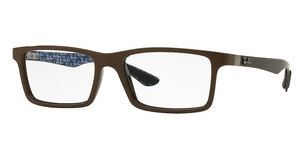 Ray-Ban RX8901 5612 TOP BROWN ON SHINY BROWN