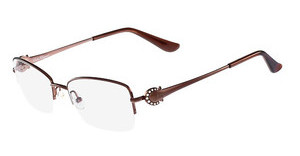 Salvatore Ferragamo SF2132R 210 SHINY BROWN