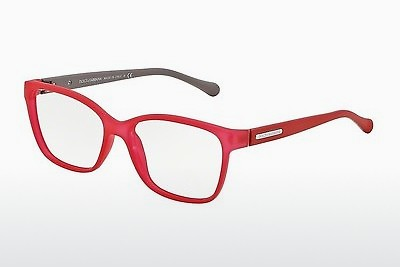 משקפיים Dolce & Gabbana OVER-MOLDED RUBBER (DG5008 2818) - אדום