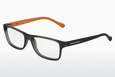משקפיים Dolce & Gabbana OVER-MOLDED RUBBER (DG5009 2813) - אפור