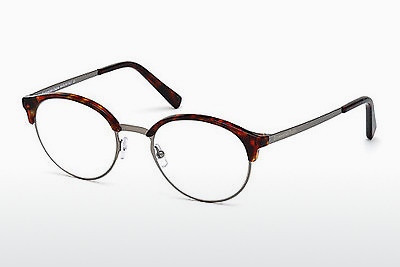 משקפיים Ermenegildo Zegna EZ5015 053 - הוואנה, Yellow, Blond, Brown