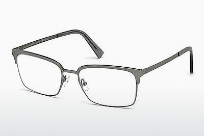 משקפיים Ermenegildo Zegna EZ5039 015 - אפור, Shiny, Matt