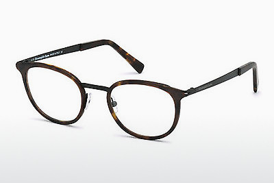 משקפיים Ermenegildo Zegna EZ5048 053 - הוואנה, Yellow, Blond, Brown
