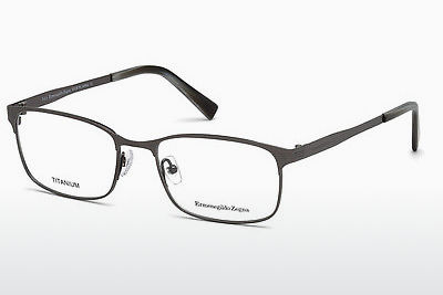 משקפיים Ermenegildo Zegna EZ5049 012 - אפור, Dark, Shiny