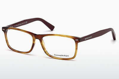 משקפיים Ermenegildo Zegna EZ5056 069 - בורגונדי, Bordeaux, Shiny