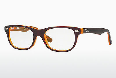 משקפיים Ray-Ban Junior RY1555 3674 - חום, כתום