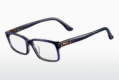 משקפיים Salvatore Ferragamo SF2636 423 - כחול, Horn