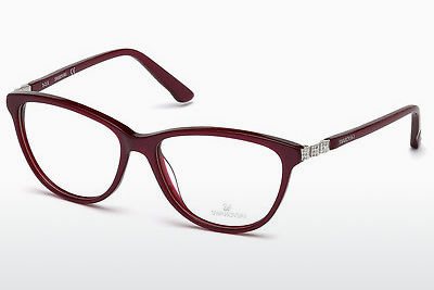 משקפיים Swarovski SK5184 069 - בורגונדי, Bordeaux, Shiny