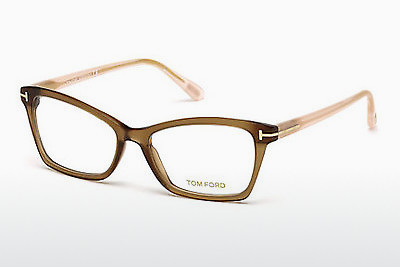 משקפיים Tom Ford FT5357 048 - חום, Dark, Shiny