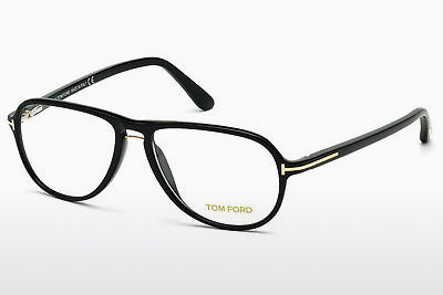 משקפיים Tom Ford FT5380 001 - שחור, Shiny