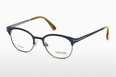 משקפיים Tom Ford FT5382 090 - כחול, Shiny