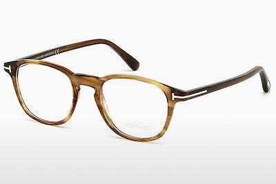 משקפיים Tom Ford FT5389 048 - חום, Dark, Shiny
