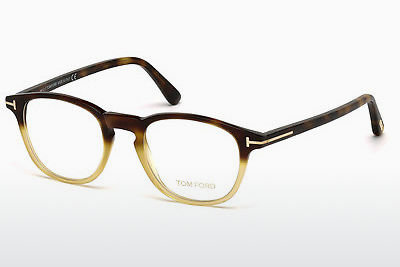משקפיים Tom Ford FT5389 053 - הוואנה, Yellow, Blond, Brown
