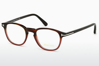 משקפיים Tom Ford FT5389 054 - הוואנה, Red