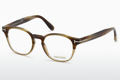 משקפיים Tom Ford FT5400 65A - קרן, Horn, Brown