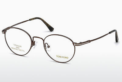 משקפיים Tom Ford FT5418 048 - חום, Dark, Shiny