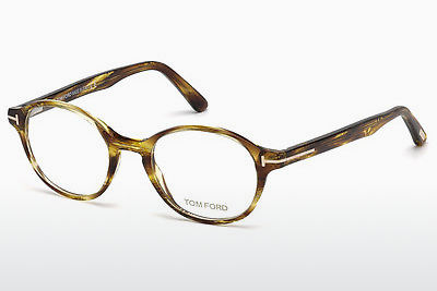 משקפיים Tom Ford FT5428 039 - צהוב, Shiny