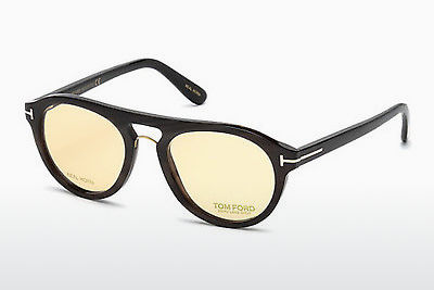 משקפיים Tom Ford FT5438-P 64E - קרן, Horn, Brown