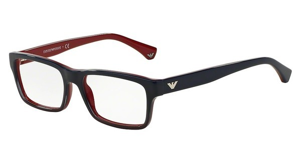 Emporio Armani EA3050 5347 BLUE GRADIENT RED ON RED