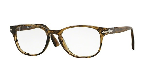 Persol PO3085V 1021 LIGHT STRIPED BROWN