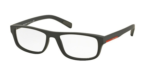 Prada Sport PS 06GV TFZ1O1 GREY RUBBER