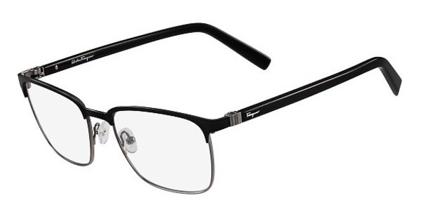 Salvatore Ferragamo SF2523 021 BLACK-DARK RUTHENIUM