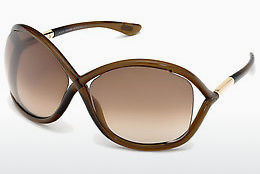 משקפי שמש Tom Ford Whitney (FT0009 692) - חום, Dark, Shiny