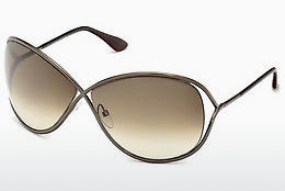 משקפי שמש Tom Ford Miranda (FT0130 36F) - חום, Dark, Shiny