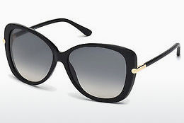 משקפי שמש Tom Ford Linda (FT0324 01B) - שחור, Shiny