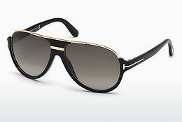 משקפי שמש Tom Ford Dimitry (FT0334 01P) - שחור, Shiny
