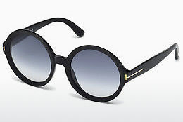 משקפי שמש Tom Ford Juliet (FT0369 01B) - שחור, Shiny