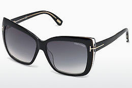משקפי שמש Tom Ford Irina (FT0390 01B) - שחור, Shiny