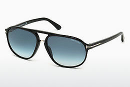 משקפי שמש Tom Ford Jacob (FT0447 01P) - שחור, Shiny