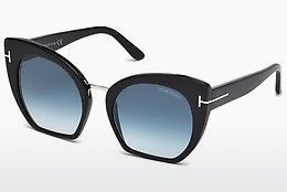 משקפי שמש Tom Ford Samantha (FT0553 01W) - שחור, Shiny