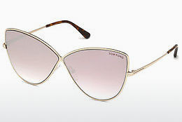 משקפי שמש Tom Ford FT0569 28Z - זהב