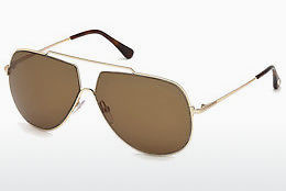 משקפי שמש Tom Ford FT0586 28E - זהב