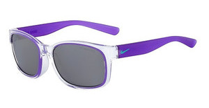 Nike NIKE SPIRIT EV0886 905 CLEAR/HYPER GRAPE WITH GREY W/SILVER FLASH LENS LENS